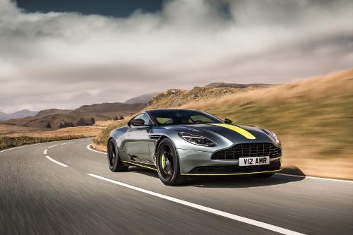 L'Aston Martin DB11 badgé AMR pour plus de puissance