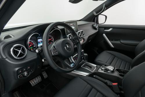 Brabus Mercedes Classe X : son habitacle
