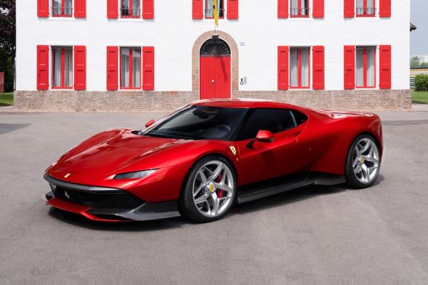 Ferrari SP38 : une édition unique inattendue