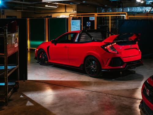 Étonnant Honda Civic Type R pick up