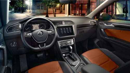 Intérieur du Volkswagen Tiguan