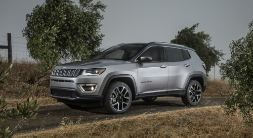 Marché automobile européen : Jeep Compass Limited