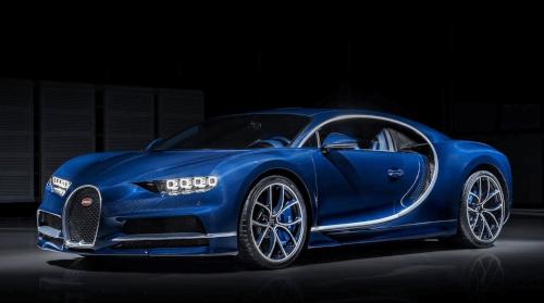 0 à 100 km/h : Bugatti Chiron, reine des performances