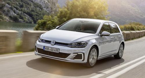 Marché automobile européen : Volkswagen Golf GTE