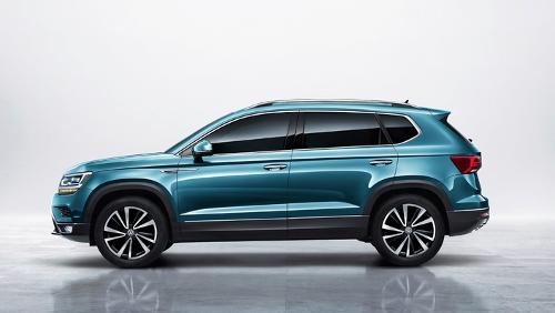Le Volkswagen Tharu pour la Chine