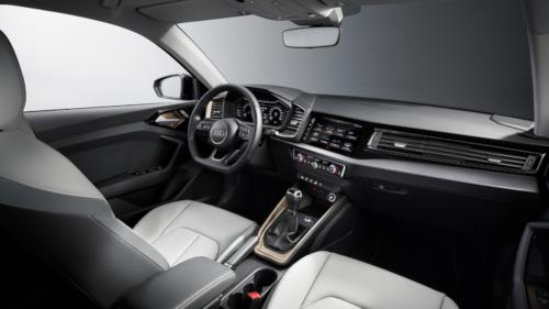 Le design intérieur de l'Audi A1 (2018)