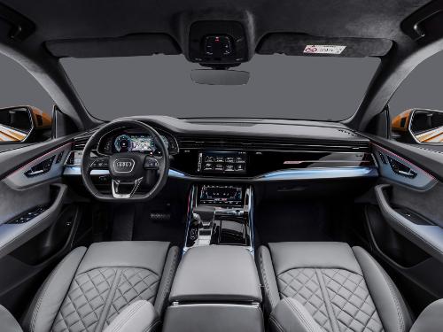 Intérieur du nouveau SUV coupé Audi Q8