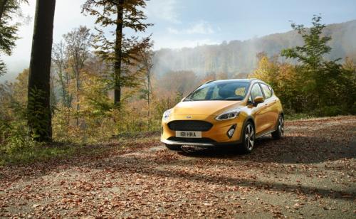 Chapitre design de l'essai de la Ford Fiesta Active