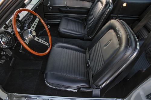 Intérieur de la Ford Shelby GT 500 Super Snake