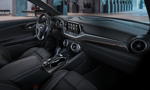 Intérieur du Chevrolet Blazer 2019