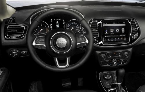 L'intérieur du Jeep Compass Brooklyn Edition