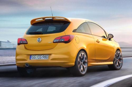 Opel Corsa GSi : arrière sur circuit