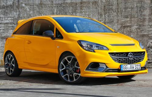 Opel Corsa GSi : avant