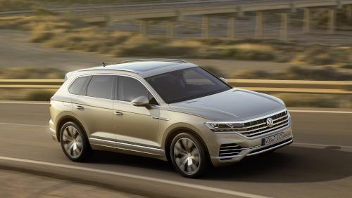 Design du Volkswagen Touareg (2019)