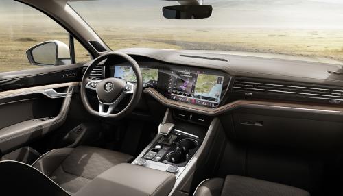 Intérieur du Volkswagen Touareg (2019)