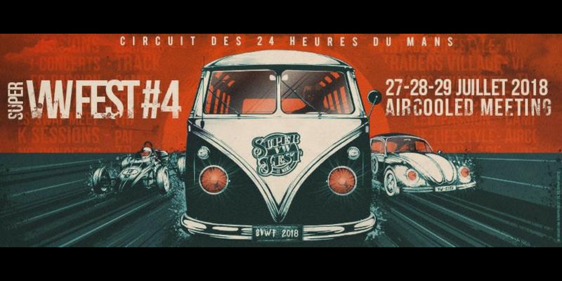La quatrième édition du Super VW Festival ouvre ses portes ce week-end au Mans