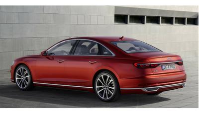 L'arrière de L'Audi A8