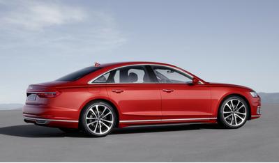 La conduite en Audi A8