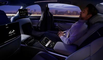 l'intérieur de l'Audi A8