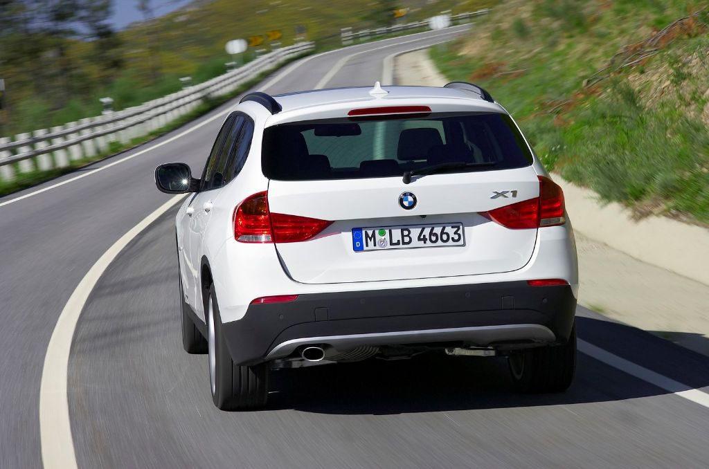 La BMW X1 sur route