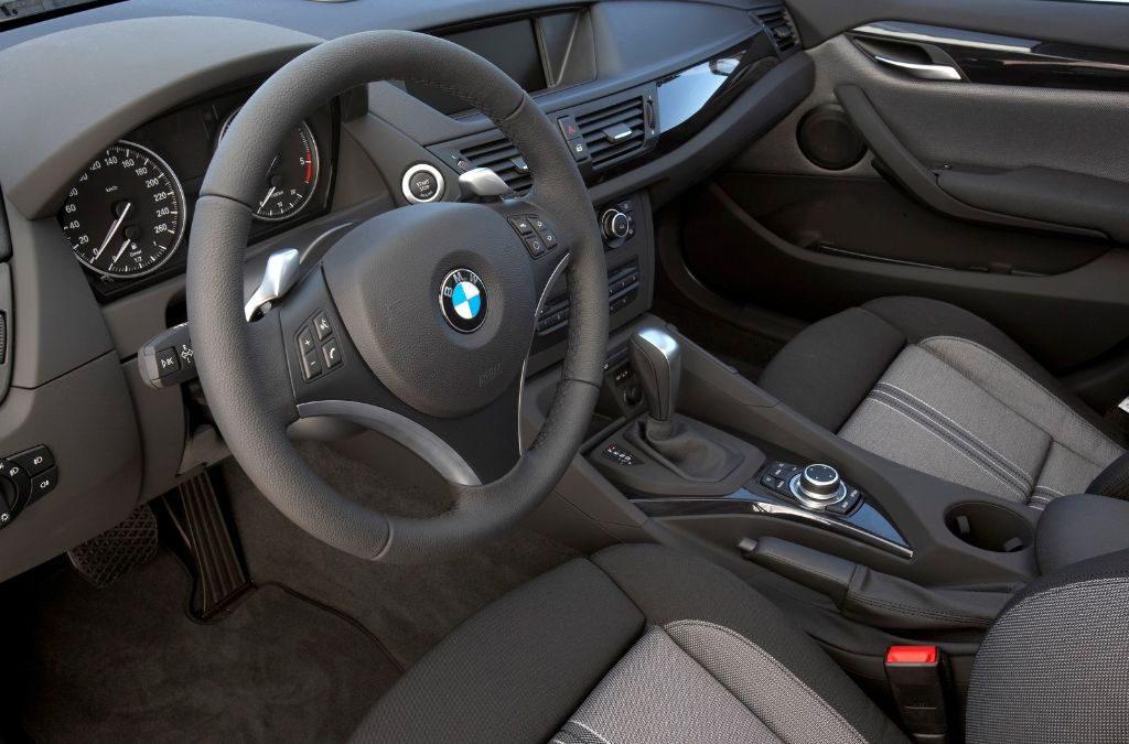 L'intérieur du BMW X1