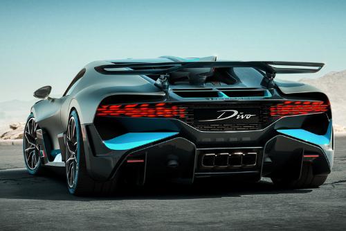 L'arrière de la Bugatti Divo