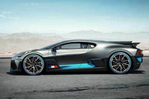 Le Design inédit de la Bugatti Divo