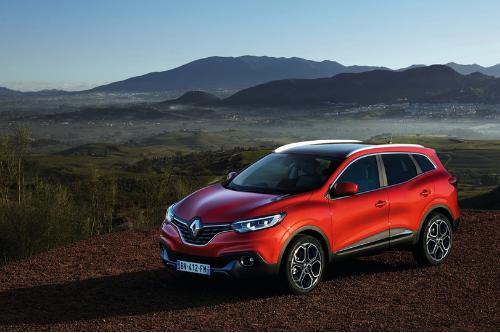 Le design du Renault Kadjar