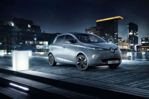 Les citadines au Mondial de l'Auto 2018 : La Renault Zoé Iconic
