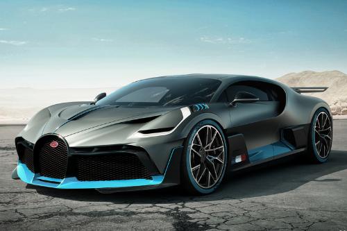 Les supercars au Mondial 2018 : La Bugatti Divo