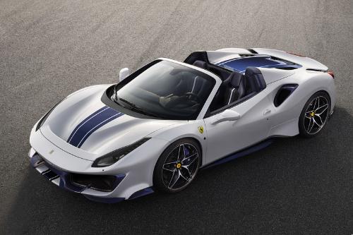 Les supercars au Mondial 2018 : La Ferrari 488 pista spider