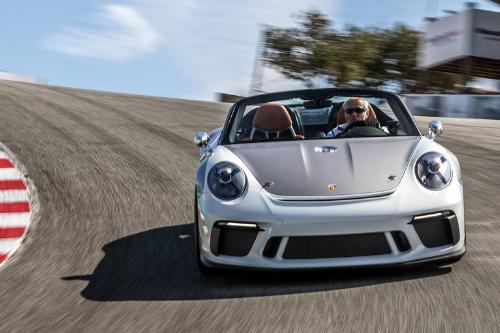 Les supercars au Mondial 2018 : La Porsche 911 speedster concept