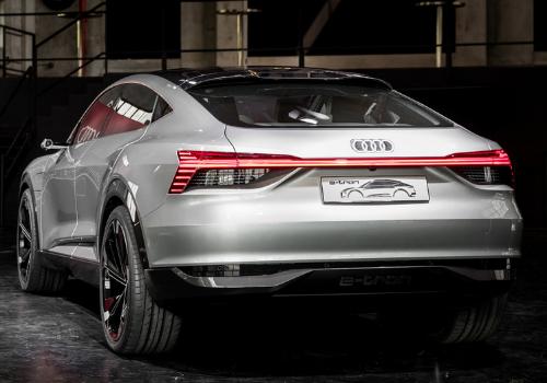 Véhicules électriques du Mondial 2018 : L'Audi E-Tron