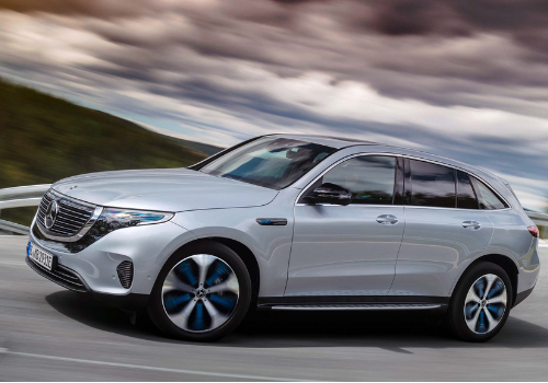 Véhicules électriques du Mondial 2018 : Le Mercedes EQC