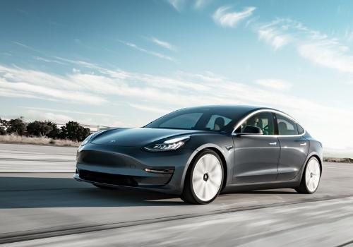 Véhicules électriques du Mondial 2018 : La Tesla Model 3
