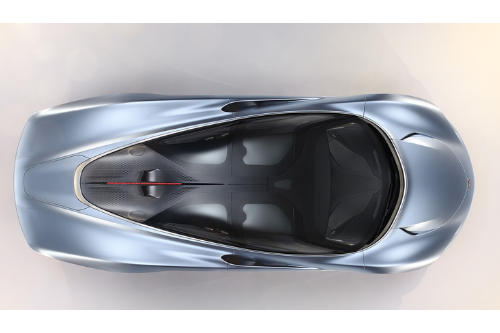 Le design de la McLaren Speedtail