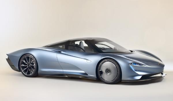 Dévoilement de l'époustouflante McLaren Speedtail
