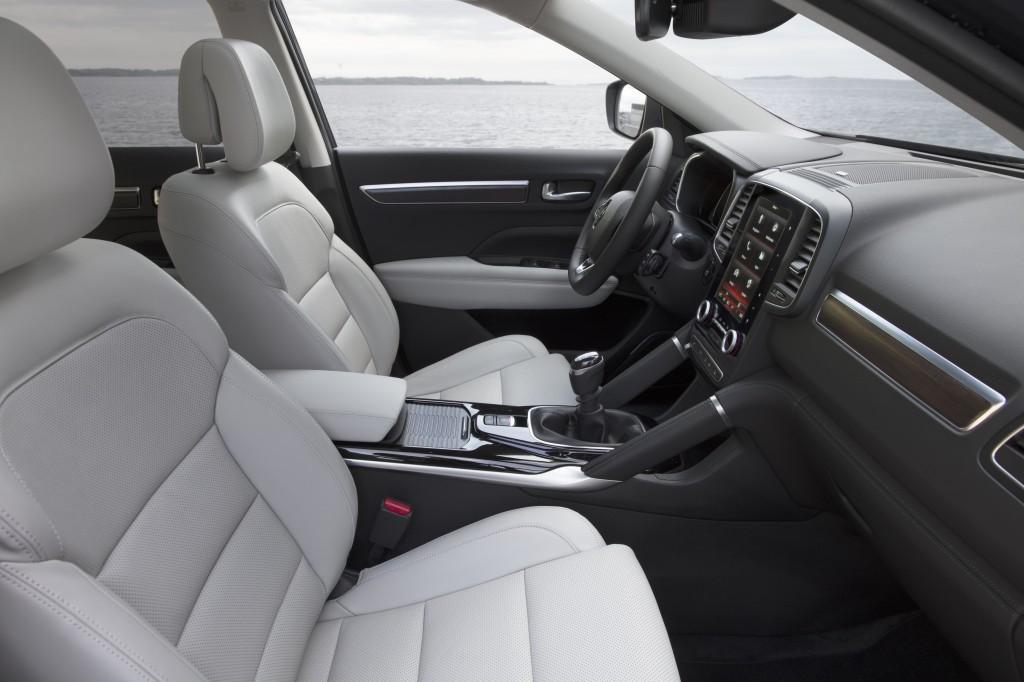 Habitacle du SUV Renault Koleos 2